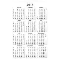 Firemné vreckové kalendáriky